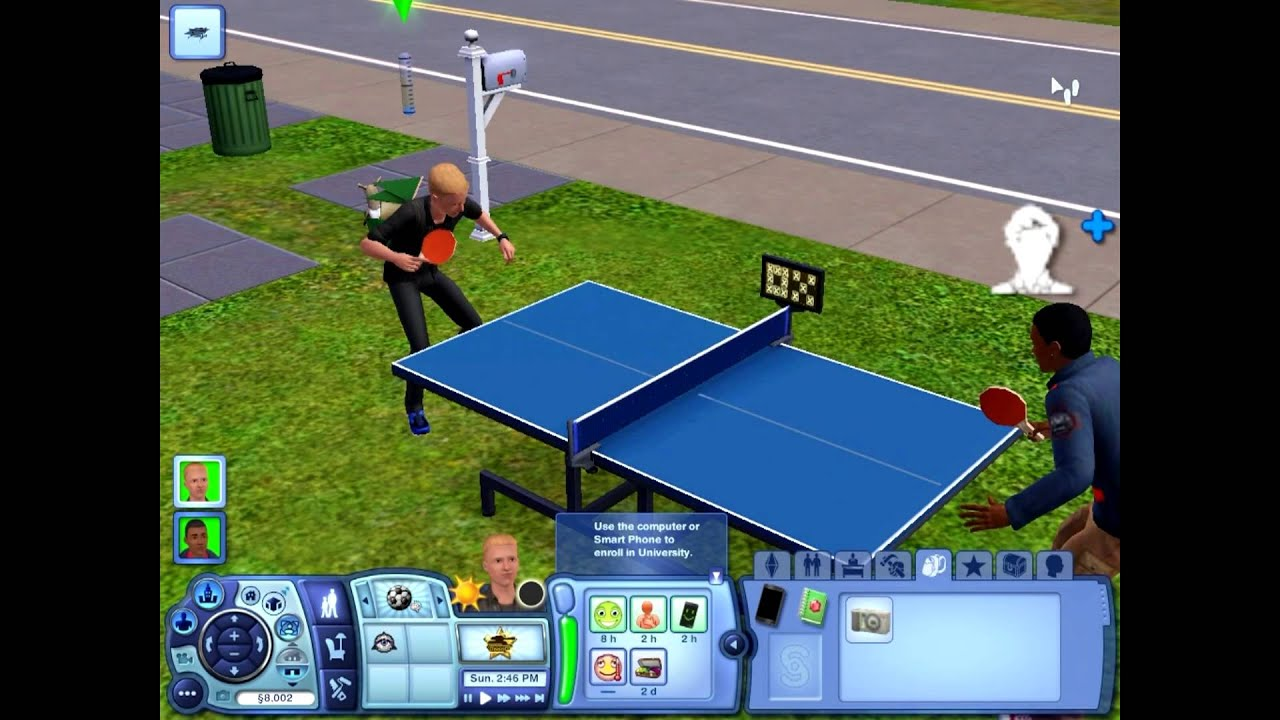how to get a ping pong table in sims freeplay