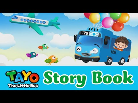 (EN) [Tayo's Story Book] #05 I Want To Fly In The Sky