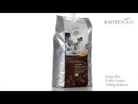 Gepa Bio Caffè Crema 1000g Bohnen