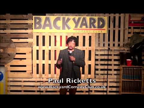 Paul Ricketts At Backyard Comedy Club