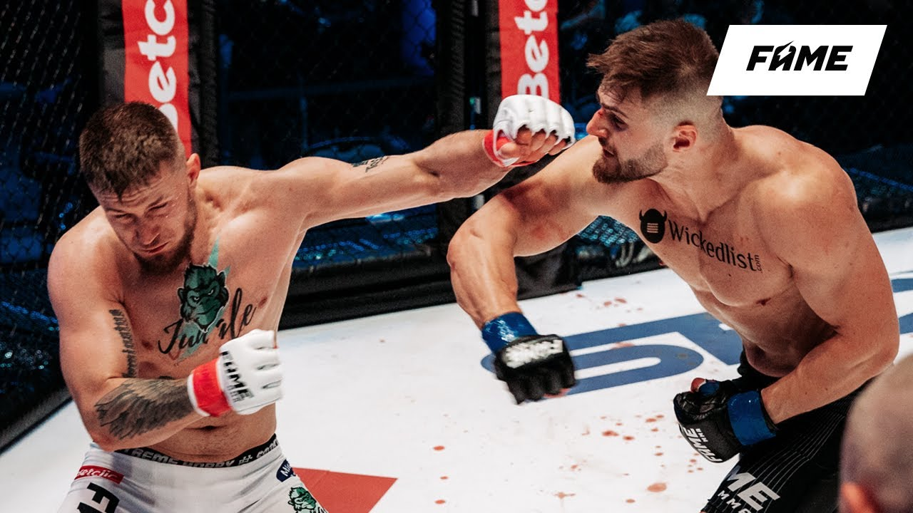 FAME MMA 7: Slow motion (highlights)