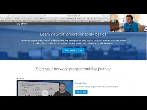 FREE Cisco Course: David Bombal interviews Hank Preston about NetDevOps: Part 1 (Cisco #DevNet)