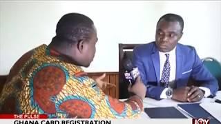 Ghana Card Registration - The Pulse on JoyNews (19-6-18)