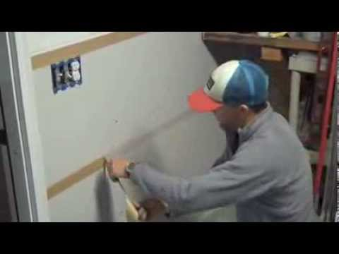 Part 2 - How to install diamond plate sheets on garage walls