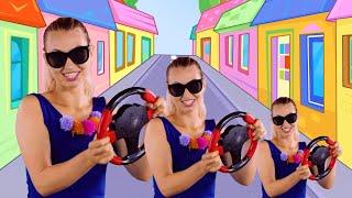 Beep Beep Song | Pretty Patty Nursery Rhymes & Kids Songs