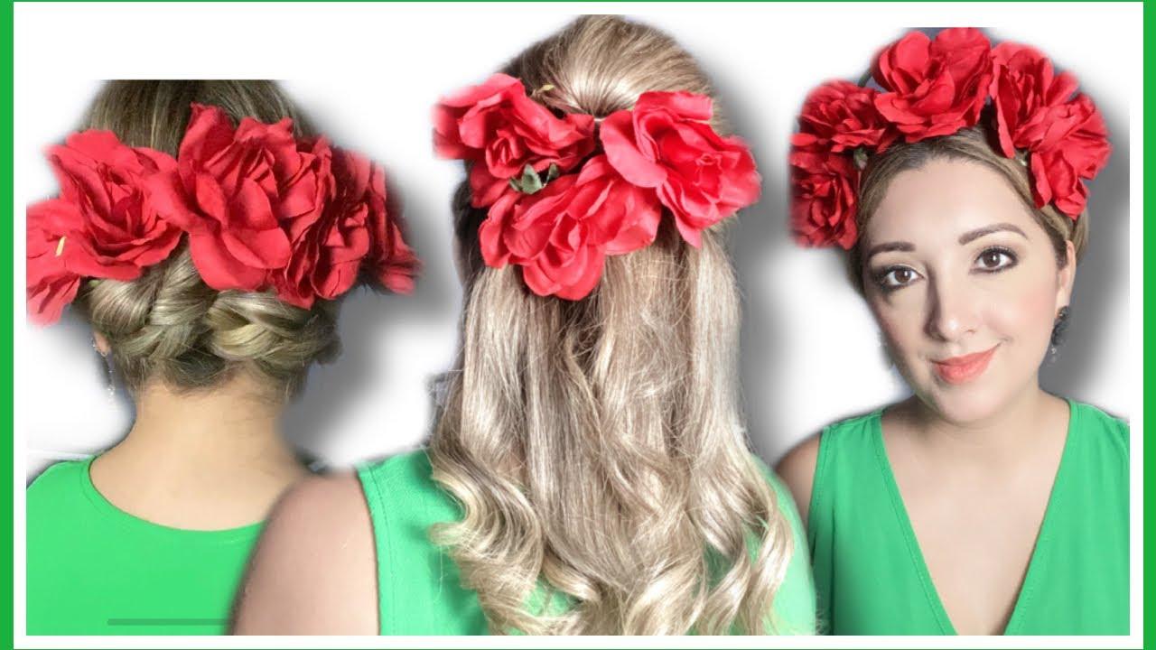 Cómo conseguir un peinados mexicanos Imagen de tutoriales de color de pelo - PEINADOS MEXICANOS fáciles y bonitos - YouTube