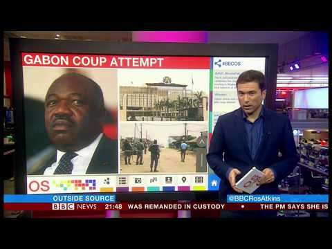 Attempted coup by three army personnel (Gabon) - BBC News - 7th January 2019