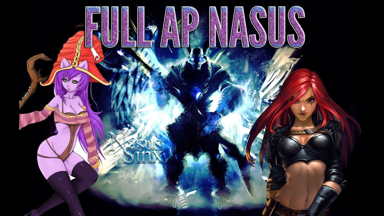 Clip LoL Hot : Nasus lên đồ Full Ap sức mạnh 18+
