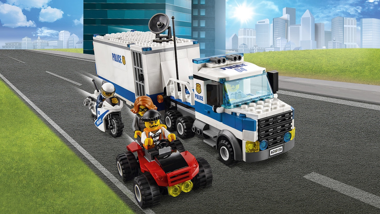 Lego City Reviews Police Mobile Command Center Youtube