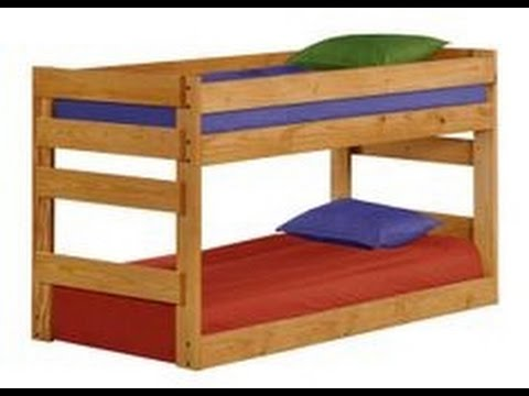 Low Height Bunk Beds Youtube