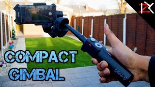 This Smartphone Gimbal Can Stretch & Fold | Unboxing & Testing The MOZA MINI-S (Prototype)