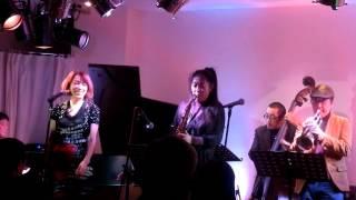 2/20/2015 vo.キャロル山崎 演奏: 杉村彰&スウィングキャッツ tp. 杉...