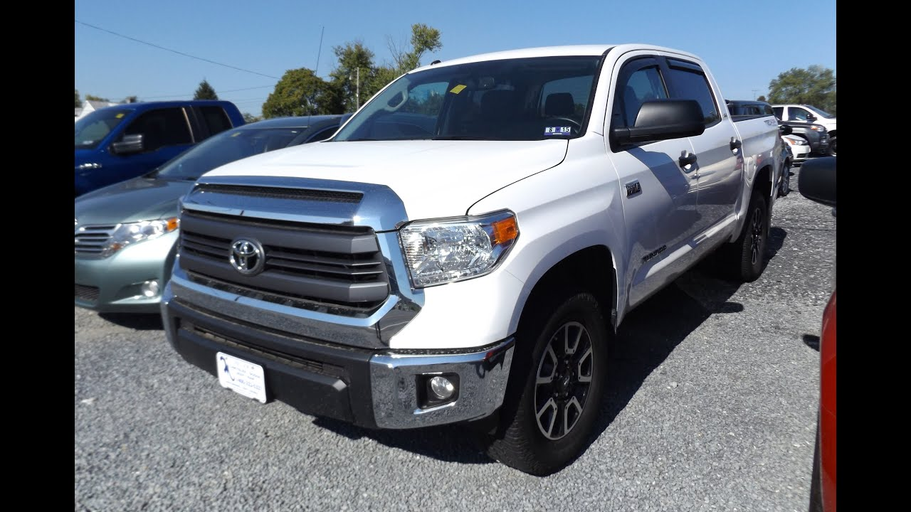 2014 Toyota Tundra Crew Cab SR5 TRD Off Road 5.7L V8 Start Up, Tour, And  Review