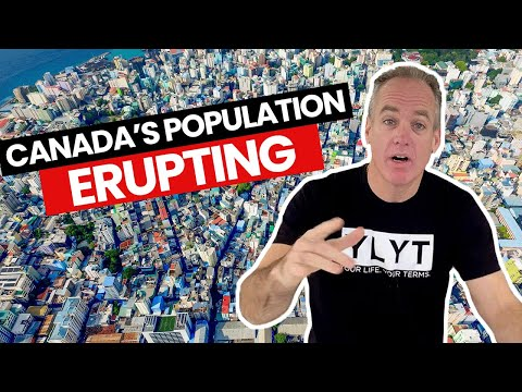 Canada's Population Erupting Like a Raging Volcano!!