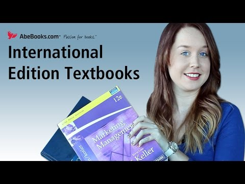 International Edition Textbooks