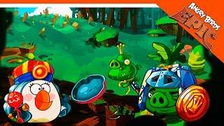 🐷 ПОПАДЬЯ ПРОТИВ КОРОЛЕВСКОГО ХРЯКА 🐷 Angry Birds Epic (Злые Птицы) Прохождение