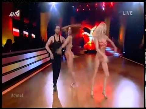 Αραβανή ΣτικούδηΕμφάνιση στο Dancing HD