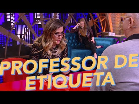 Entrevista Com Especialista - Professor de Etiqueta - Tatá Werneck - Humor Multishow