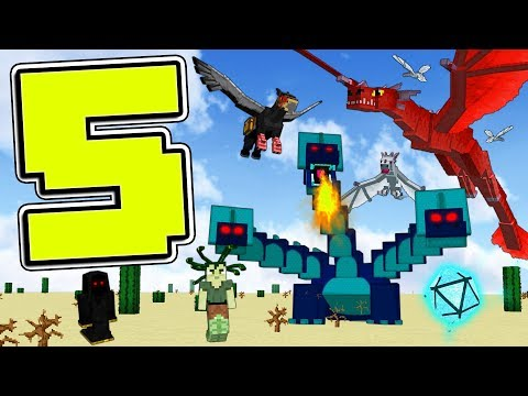 TOP 5 MINECRAFT MODS!!