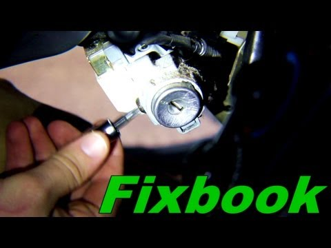 Honda Ignition Lock Cylinder Replacement Youtube