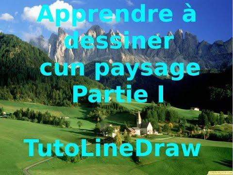 Tutoriel comment dessiner un paysage partie i how draw a landscape part i hd youtube - Dessiner un paysage ...