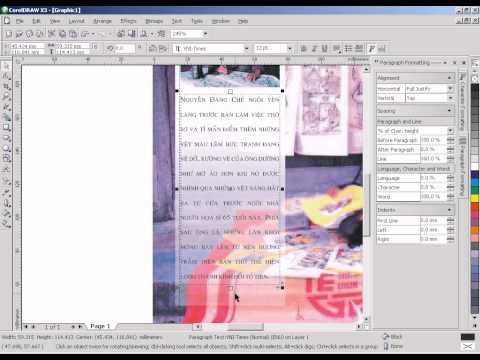 Giáo trình thiết kế quảng cáo chuyên nghiệp CorelDraw X3. Ep 2.4
