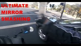 THE ULTIMATE MIRROR SMASHING COMPILATION! Angry People Vs Biker, Stupid & Crazy (Vol - 3)