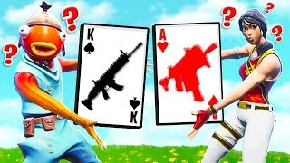 BLACKJACK *21* w/ SSUNDEE Card Game in Fortnite Battle Royale