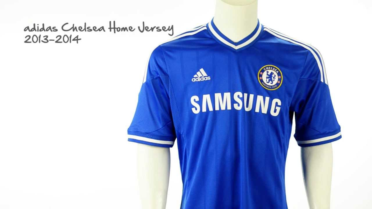 premium selection 882f8 85c37 adidas 2013-2014 Chelsea Official Home Jersey Unboxing