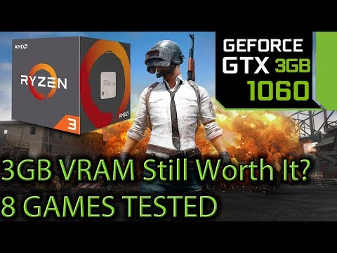 GTX 1060 3gb Tested on 8 Games at 1080p - 3gb of Vram still worth it?