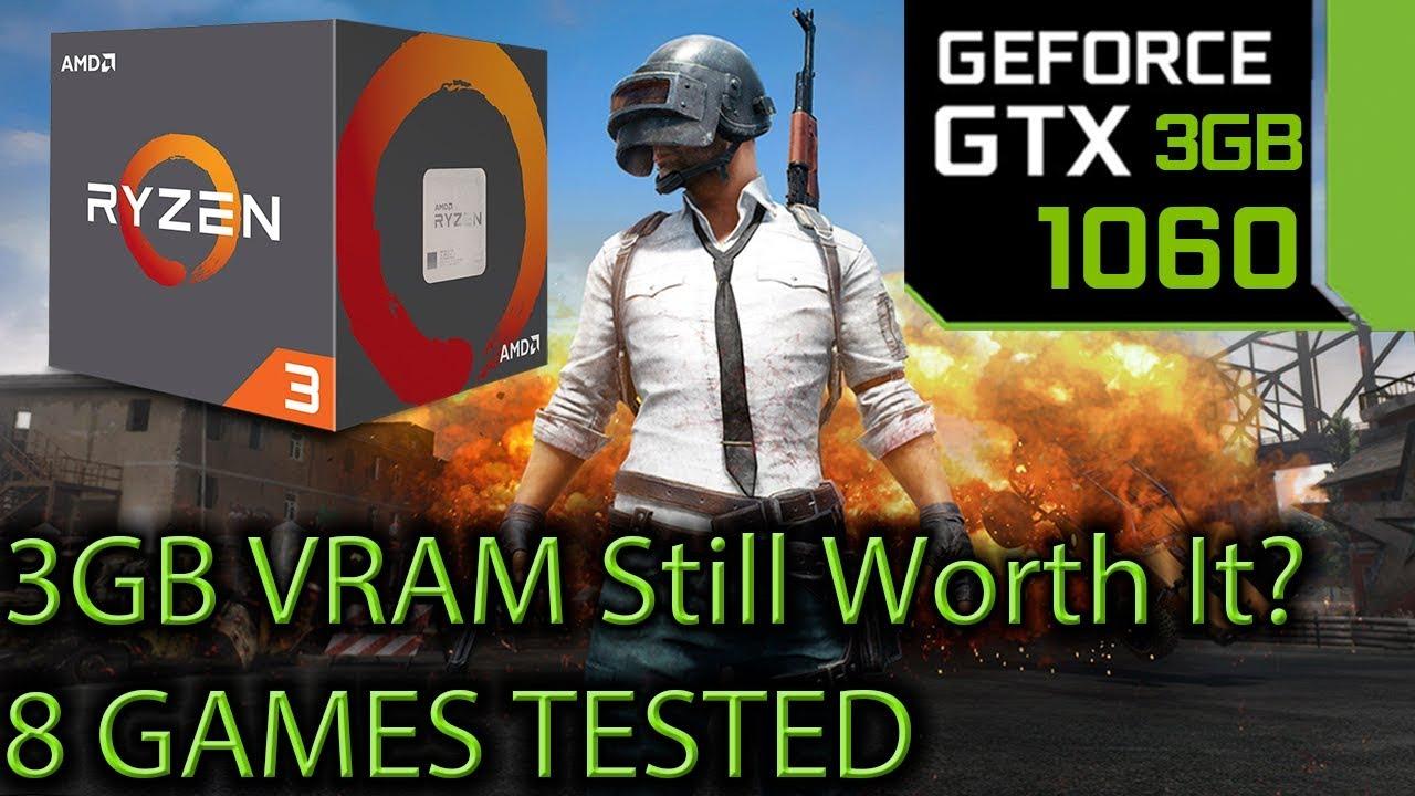 GTX 1060 3gb Tested on 8 Games at 1080p - 3gb of Vram still worth it?