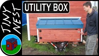 "[ep 22: Utility Box] Tiny House Project ""tiny Nest"""