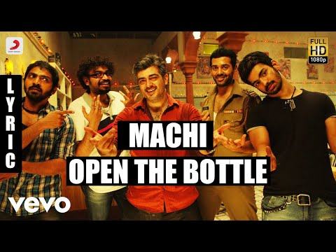 Mankatha - Machi Open the Bottle Tamil Lyric | Ajith Kumar, Trisha | Yuvan