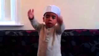 Rab Farmaya Mehbooba Zamane cute little boy!! SubhaanAllah