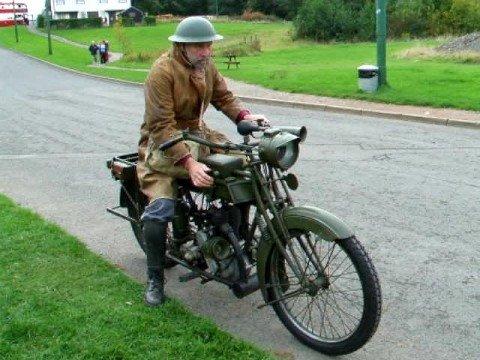 1916 Sunbeam War Department Motorcycle