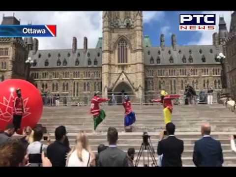Maritime Bhangra On Parliament Hill, Ottawa