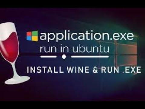 Install Wine On Linux/Ubuntu - Run Windows Apps - Wine Shortcut