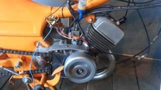 Двигатель Ш-58. Безконтактное зажигание