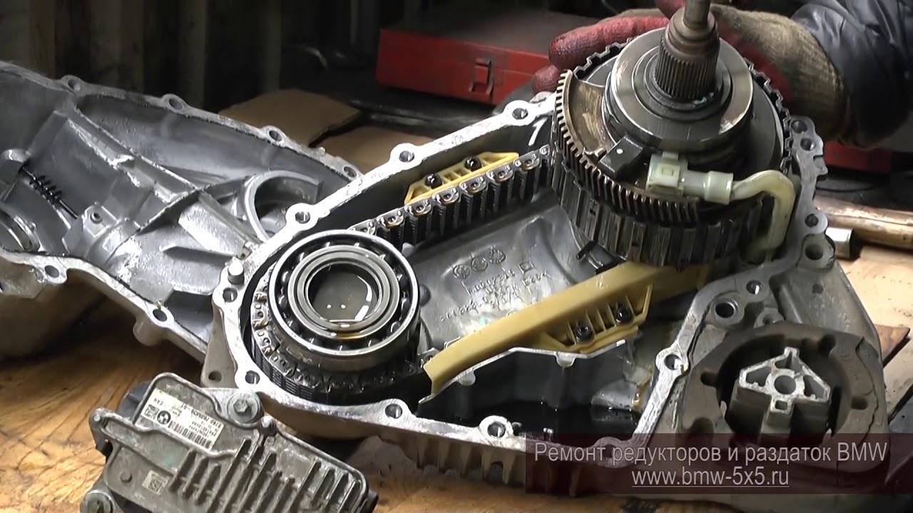 Диагностика и ремонт раздатки ATC450 на BMW X5 E70