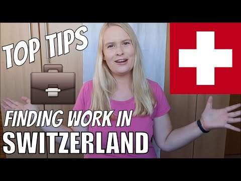 How To Find A Job In Switzerland