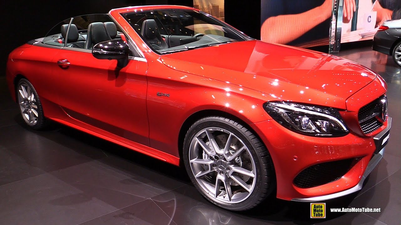 2017 Mercedes AMG C43 4Matic Convertible - Exterior and Interior ...