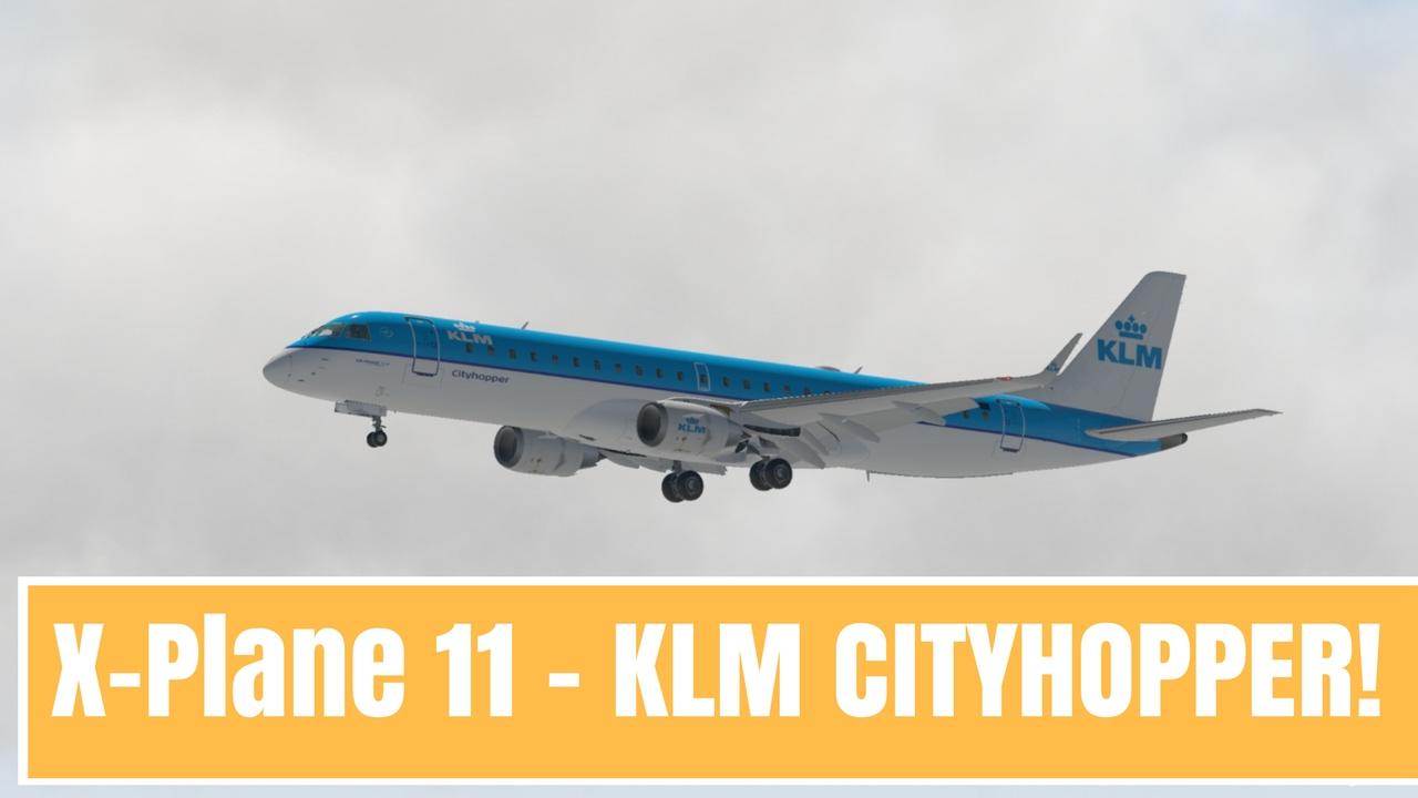 X-Plane 11 | REALISTIC Embraer 190 landing into Lisbon!