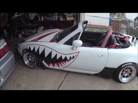 miata shark teeth