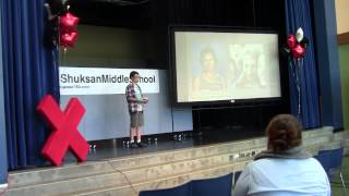 Breast Cancer. Kids can change the world | Ian McDevitt | TEDxShuksanMiddleSchool