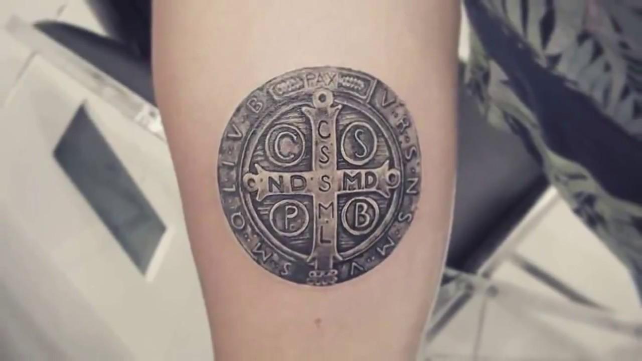 Tatuajes De San Benito La Cruz Y Llave Youtube