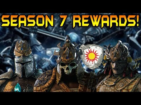 For Honor: SEASON 7 FACTION WAR REWARDS! NEW ORNAMENTS!