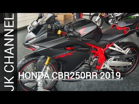 Honda Cbr 250 Rr 2019 Keren Warna Hitam Doff Review Youtube