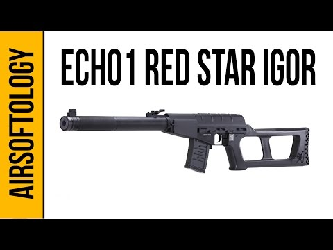 Echo 1 Red Star IGOR - Russian Sniping on a Budget | Airsoftology Review