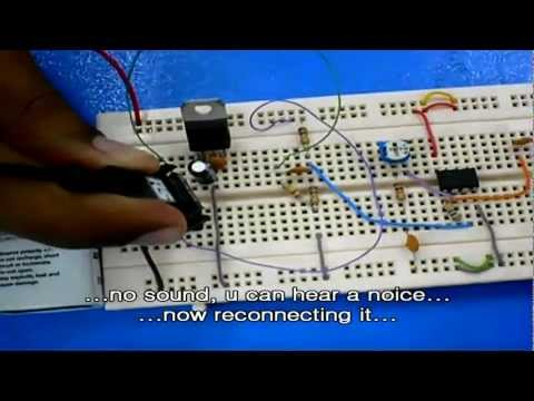 Audio Transmission over Optical Fiber Cable.wmv