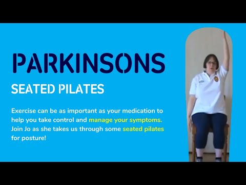 Parkinson's UK| Seated Pilates for Posture Jo Pritchard